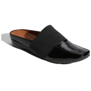 Gentle Souls iso mule black patent leather